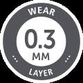 0.3mm Wear Layer